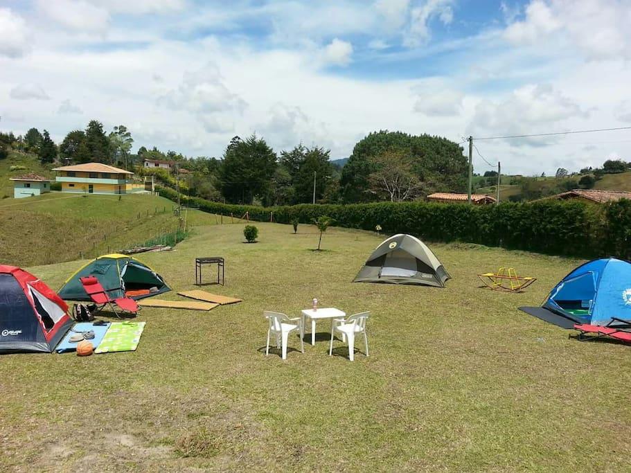 Zona de Camping Al Natural