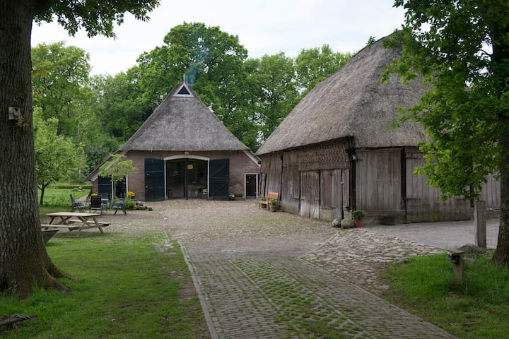 Beautiful renovated barn with pool - Oosterhesselen - วิลล่า
