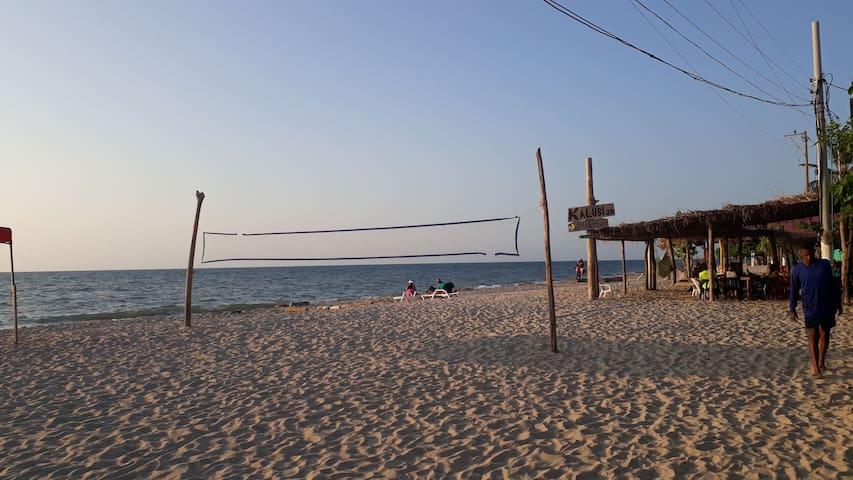 Kalusi  JR el lugar ideal para disfrutar del mar