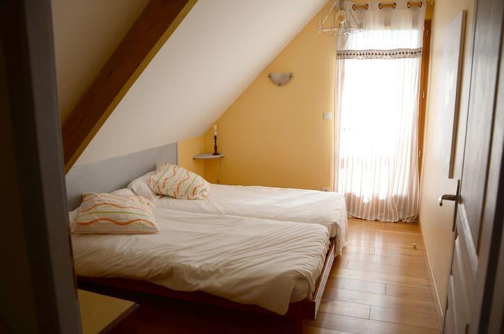 la petite chambre à l'étage