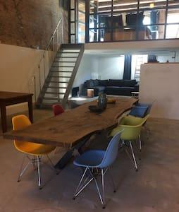 Spacious industrial loft - Schiedam - Loft-asunto