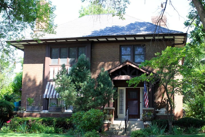 Centrally located historic home, bedroom #1