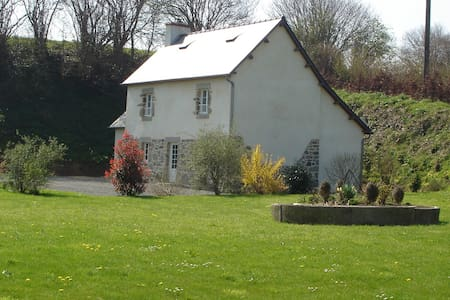 Maison en pierre avec Jardin - Le Mesnilbus - Casa