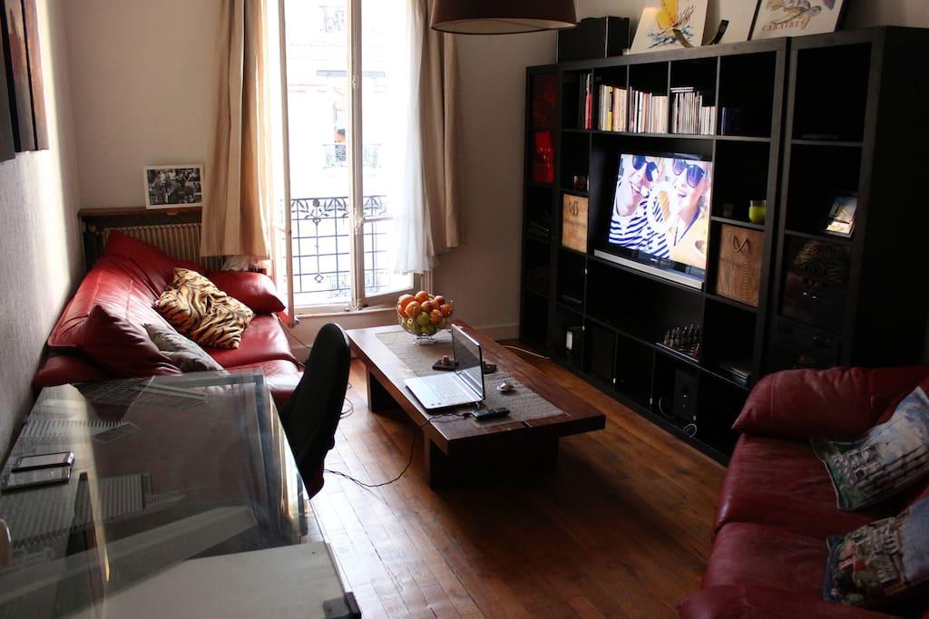 Appartement proche centre paris appartements louer - Interieur appartement original et ultra moderne a paris ...