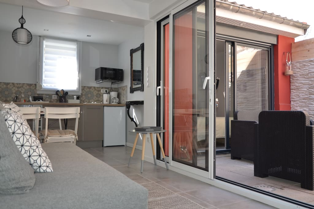 Maison 4 personnes en plein centre du touquet for Wohn und esszimmer 30m2