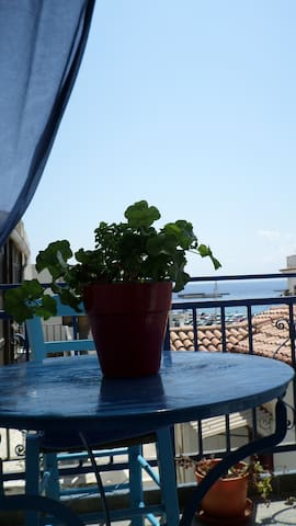 Kamara Rooms- Blue, sea view. - Tinos - Bed & Breakfast
