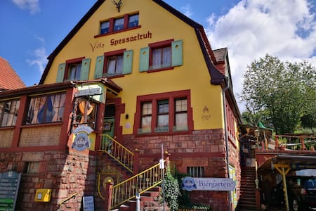 Villa Spessartruh~Autobahn A3~Gästezimmer~Spessart