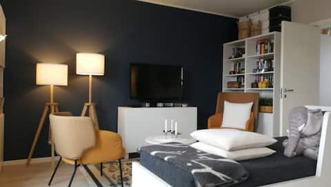 Koselig og fullt møblert leilighet midt i byen