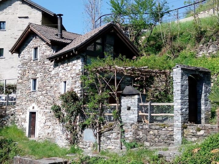 """Ferienhaus """"Casa di Sasso"""""""