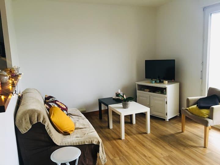 Logement spacieux proche Erdre/ St Donatien