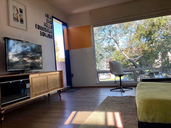 Chalet du Soleil. Habitación privada