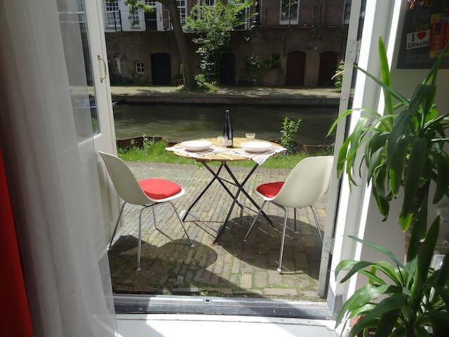 Ground floor apartment at the canal - Utrecht - Wohnung
