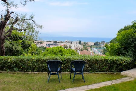 Antibes Horizon sea-view Cottage, walk to old town