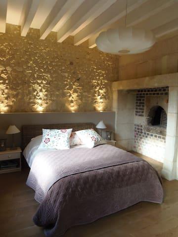 B&B romantique châteaux de la Loire - Lunay - Bed & Breakfast
