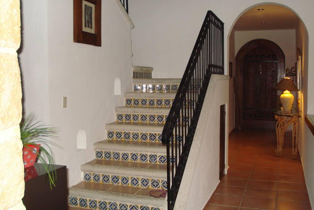 Vista interior escaleras