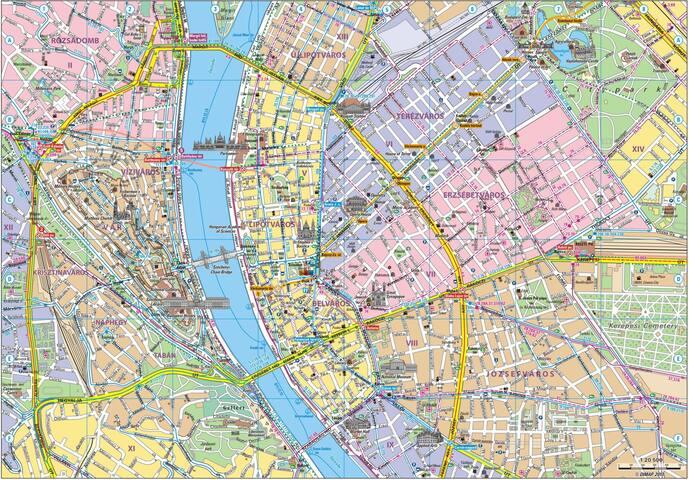 Tibor's guidebook for Budapest