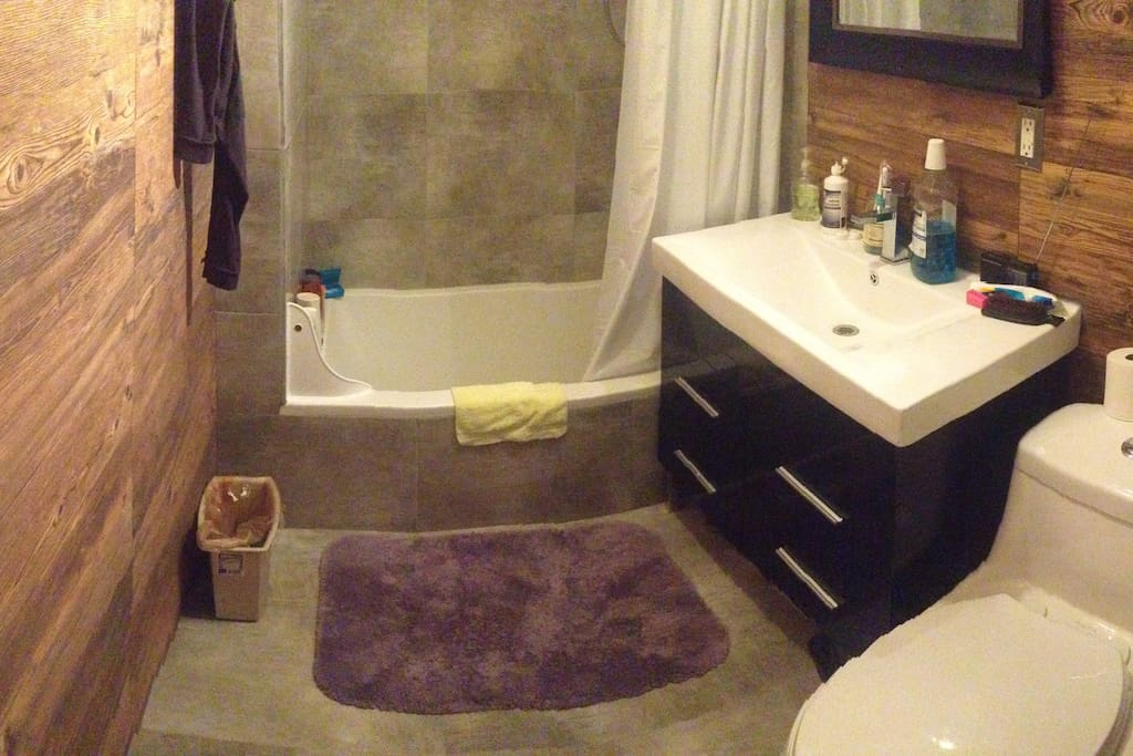 You own PRIVATE bathroom and shower!!