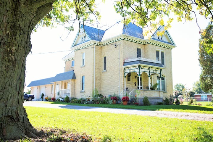 Caradoc Country B&B-The West Suite - Strathroy - Szoba reggelivel