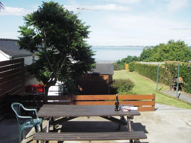 maison avec vue magnifique sur mer, - Saint-Brieuc - Huis