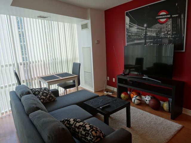 Large 1-Bedroom in Downtown Toronto