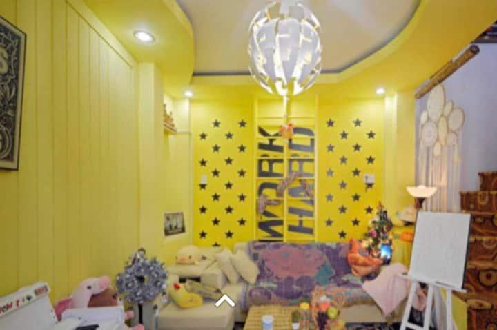 Cute Yellow House in HCMC