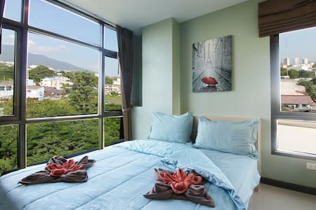 Penthouse near Night Bazaar v/Mountain View (Pool) - Chang Khlan - Serviced apartment