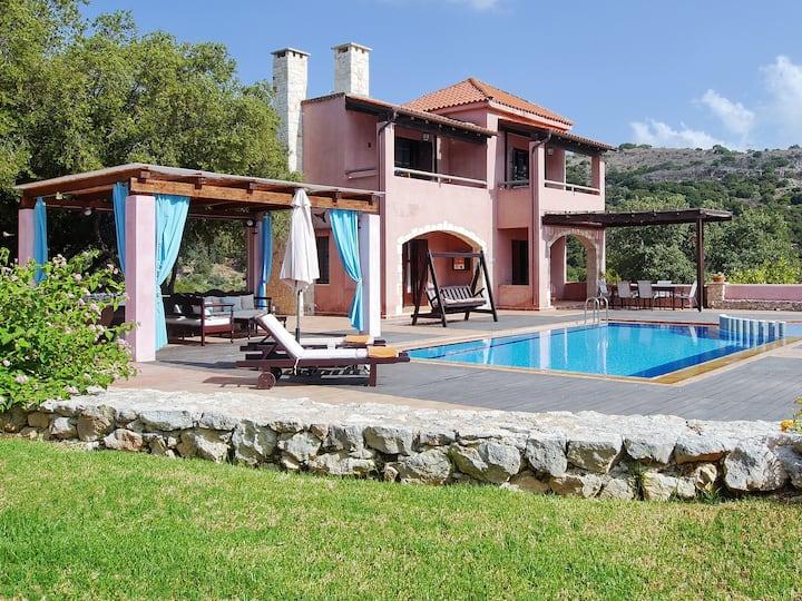 Villa Galania, Armeni,  Crete