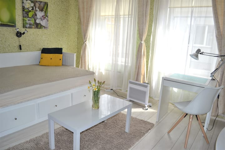 -20% from 4 nights, Studio, 20 min to Old City !