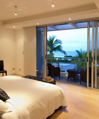 The balcony views from the master bedroom is something special.