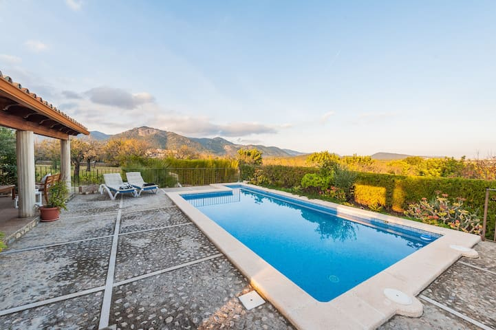 Can Gallu - Villa with views to the Tramuntana - Moscari
