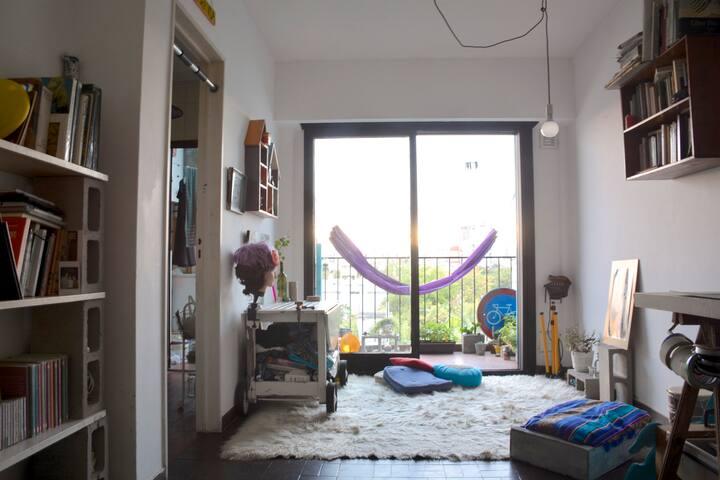 Hermoso y acogedor departamento en Villa Urquiza - Buenos Aires - Apto. en complejo residencial