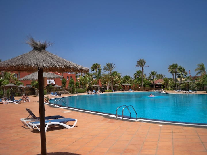 Large 1 bed apartment sleeps 4 in Corralejo