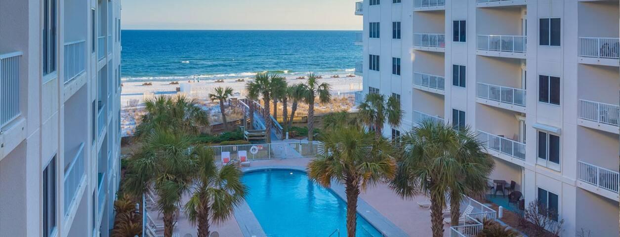 Orange Beach Condo/Pool 1BR for 4 - 50% Off Offer