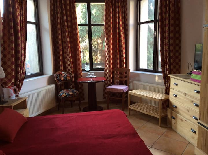 Apartments 1 in a historic villa. M/tr, 10m/center