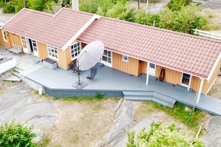 Stor idyllisk hytte på Hvasser, Tjøme