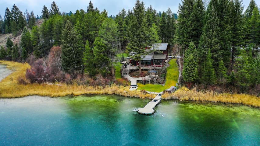 Private Lake House in Whitefish(near Glacier Park)