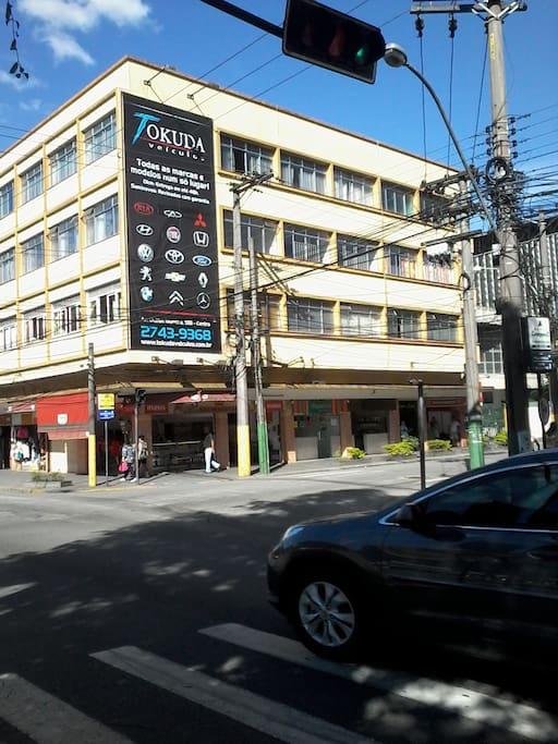 Esquina rua Luiz Meireles