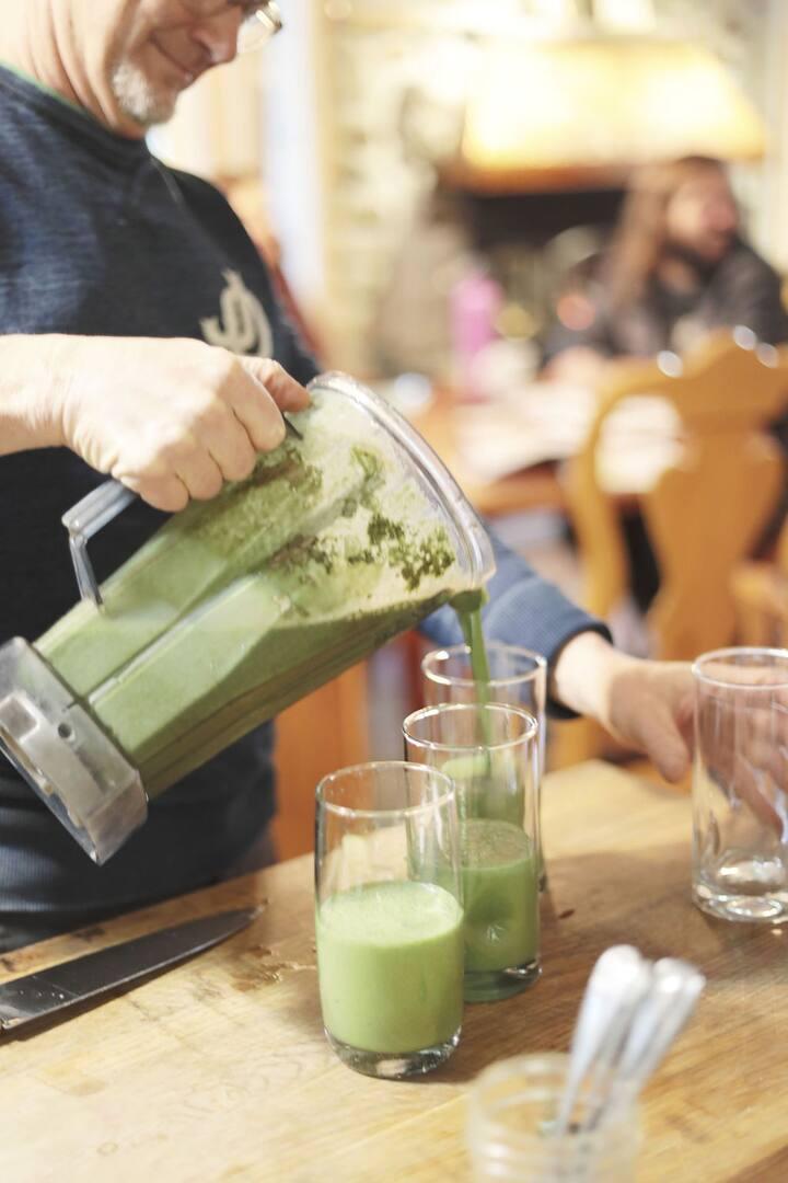 Delicious  nutrient-dense smoothies