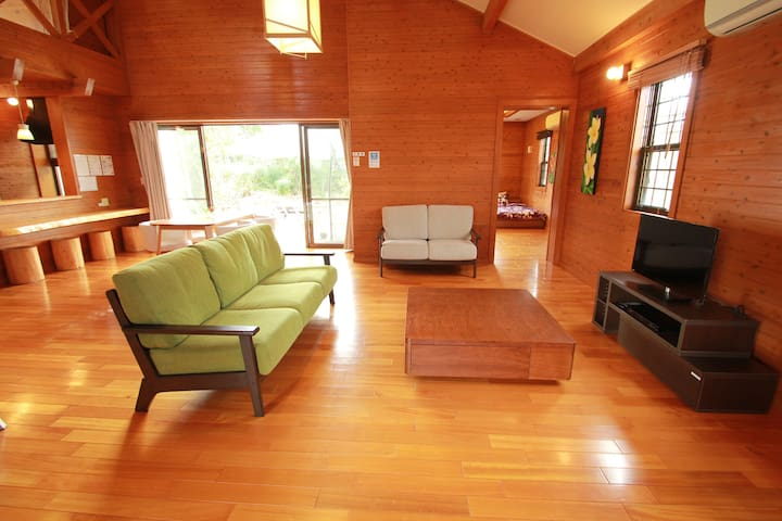 Luxury Cottage- Close to beach, gd for sightseeing - Onna-son - Villa