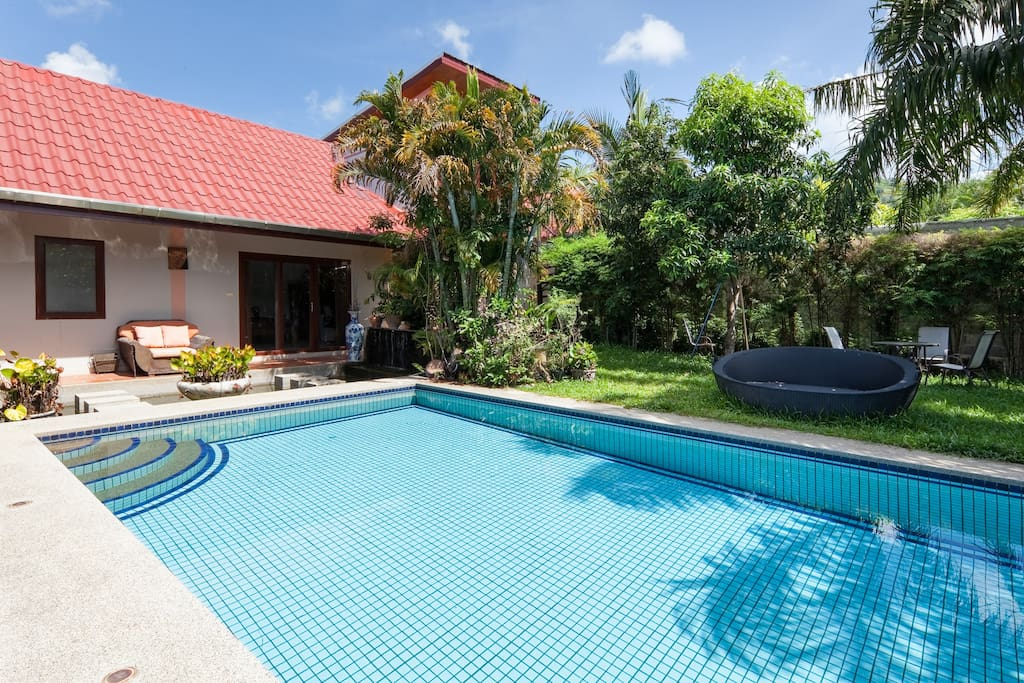 50x10 sqm private pool