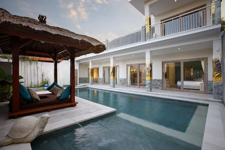 Child safe. Villa Adon. Pool 4*10 meters - Denpasar - Huis