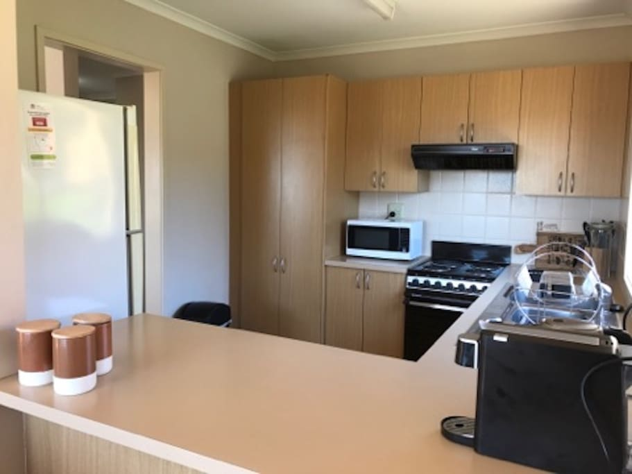 Fully equipt clean as kitchen