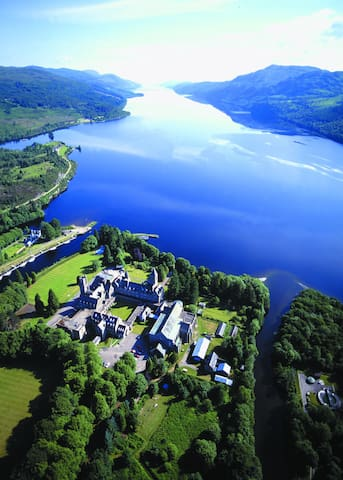 Historic Highland Home on Loch Ness - Saint Benedicts Abbey - Huoneisto