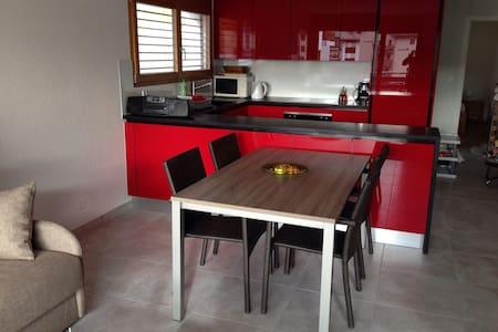 Neue 3 Zimmer Wohnung in Leukerbad - Leukerbad - Wohnung