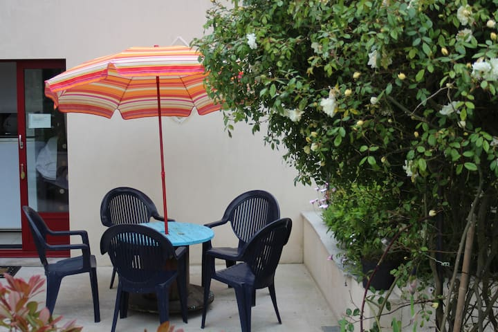 joli studio  tout confort  en bretagne - Saint-Coulomb - Appartement