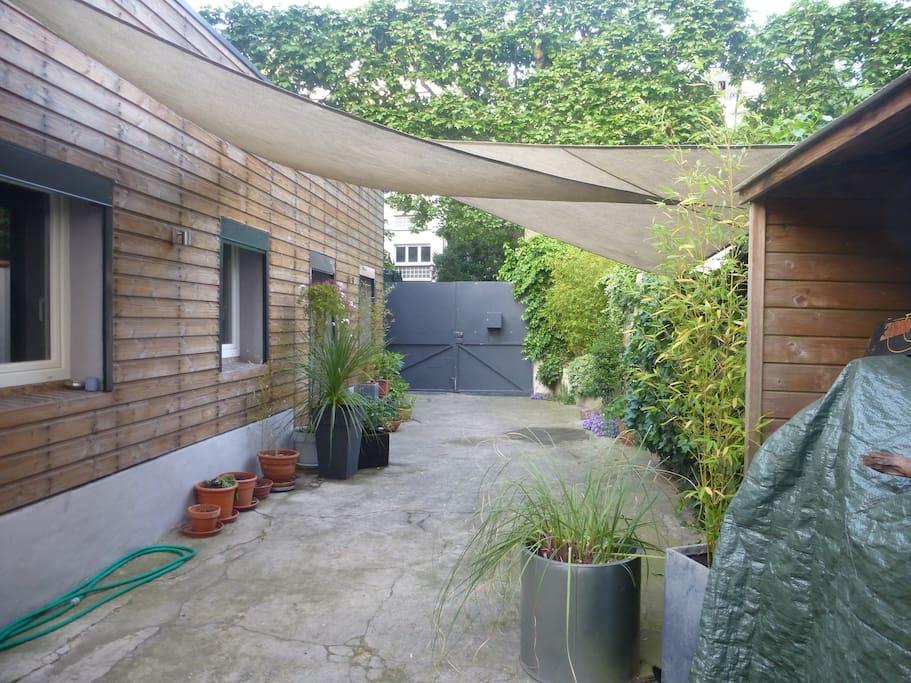 Maison paris 10 min en train maisons louer - Location maison jardin ile de france colombes ...