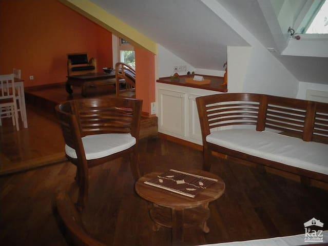 F2 meublé dans un cadre verdoyant - Ravine des Cabris - Wohnung