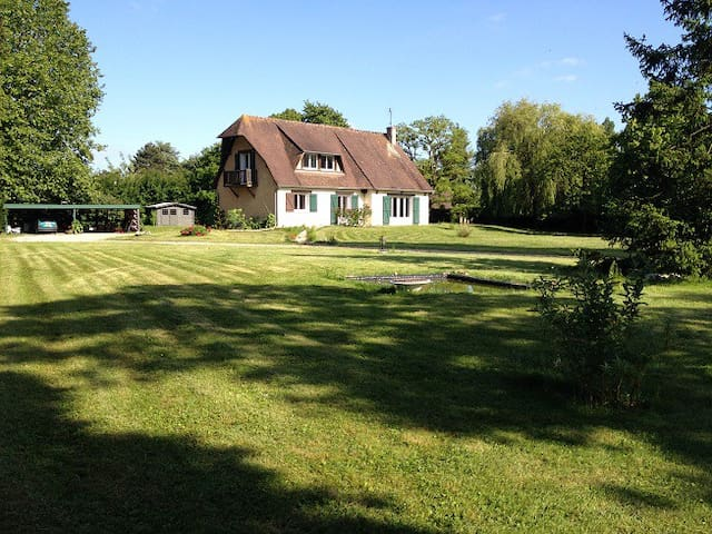 Charm, 80km from Paris, Golf 1km - Ivry-la-Bataille - Casa