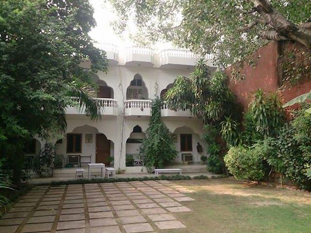 Shahar Palace - The Peacock Garden - Jaipur