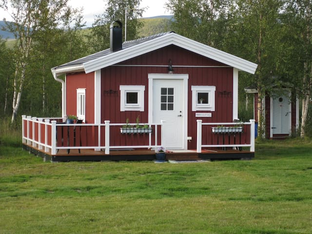 Stuga i Nikkaluokta nära Kebnekaise - Nikkaluokta - Cabin